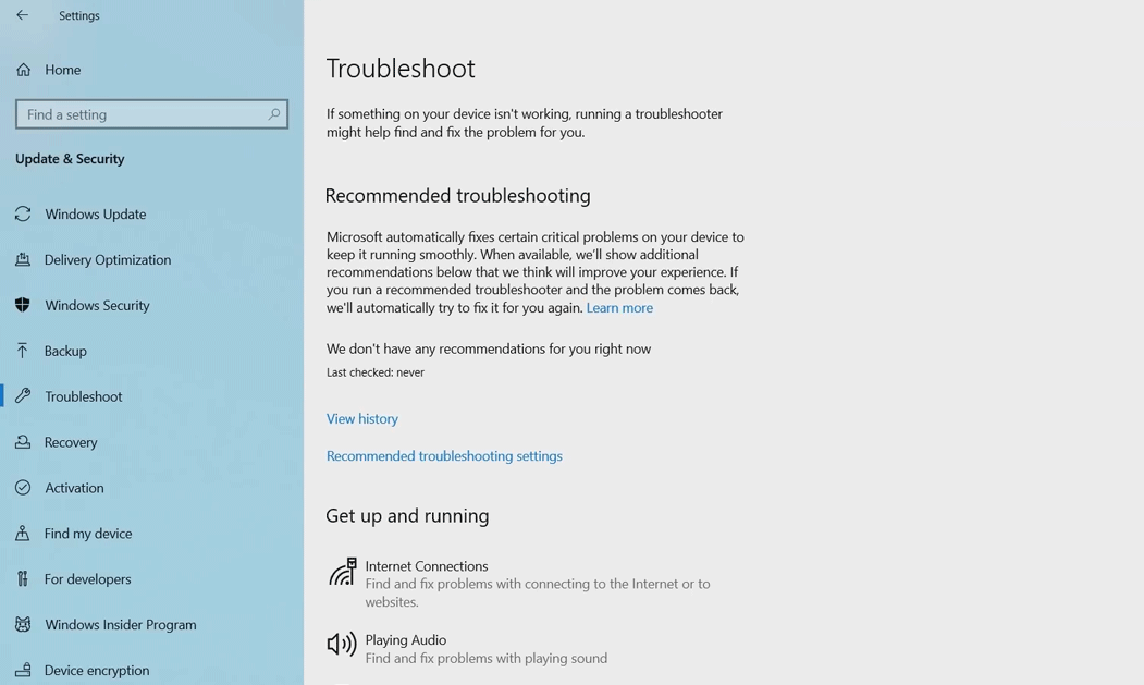 windows-10-troubleshooting-enhancement-update-april-2019