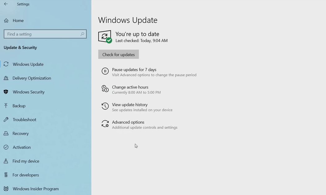 windows-update-settings-enhancements-april-2019