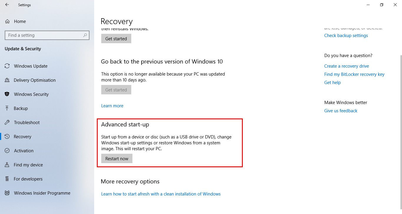 How to Manage Windows Start-up Boot Menu Options