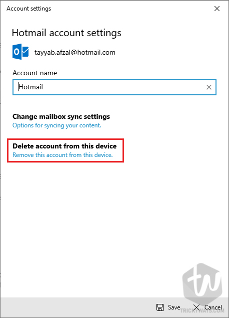 Fix Microsoft Account Problem