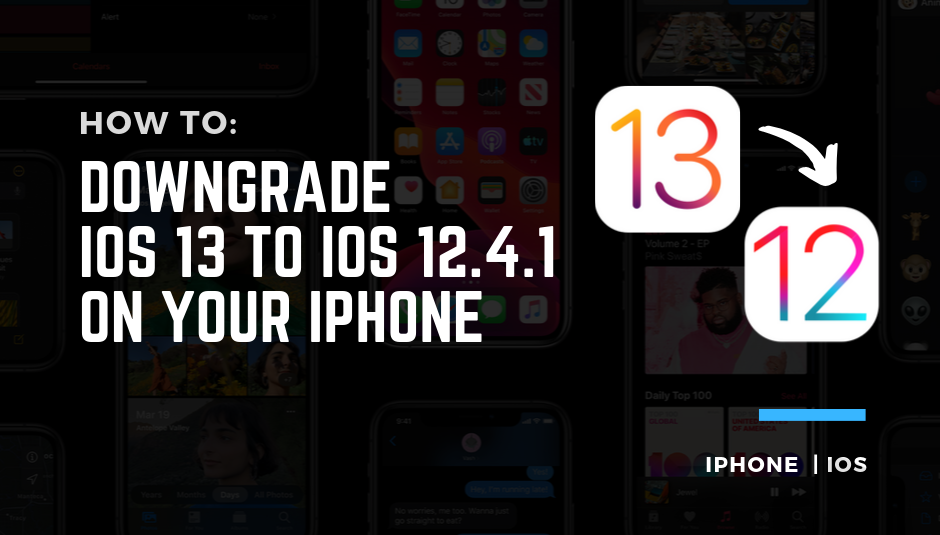 downgrade ios 13 to ios 12.4.1.png