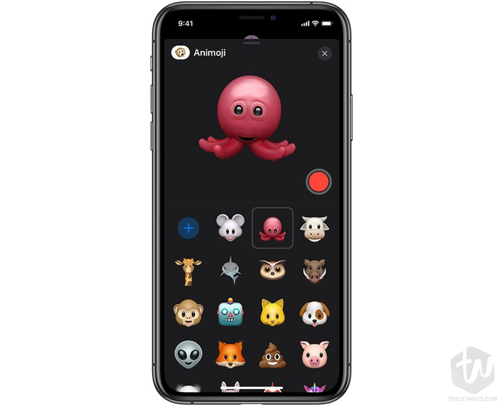new Animoji's in iOS 13 Mouse, Octopus and more