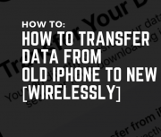 Transfer Data From Old iPhone to New iPhone
