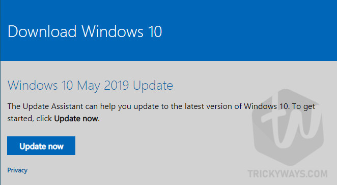 Update Windows Directly from Microsoft Website