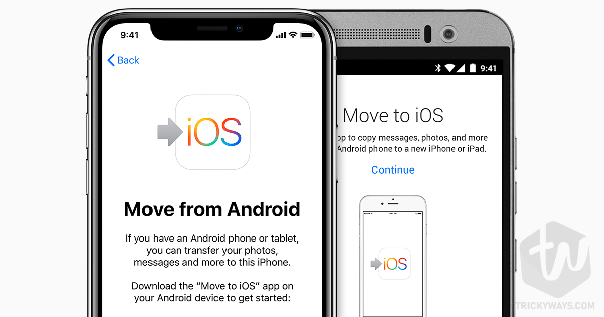 move from android to iphone
