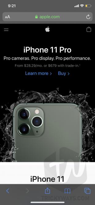 full webpage screenshot safari iphone and ipad