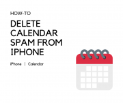 How to Delete Calendar Spam from iPhone
