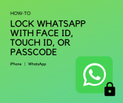 How to Lock WhatsApp with Face ID, Touch ID, or Passcode