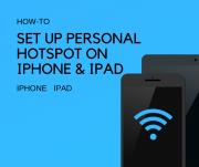 sharing internet from iPhone ipad
