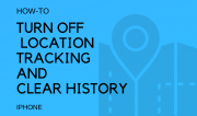 turn off location tracking and clear location history on iphone