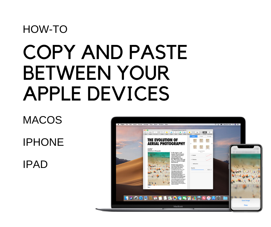 How to copy and paste between your Apple devices ...