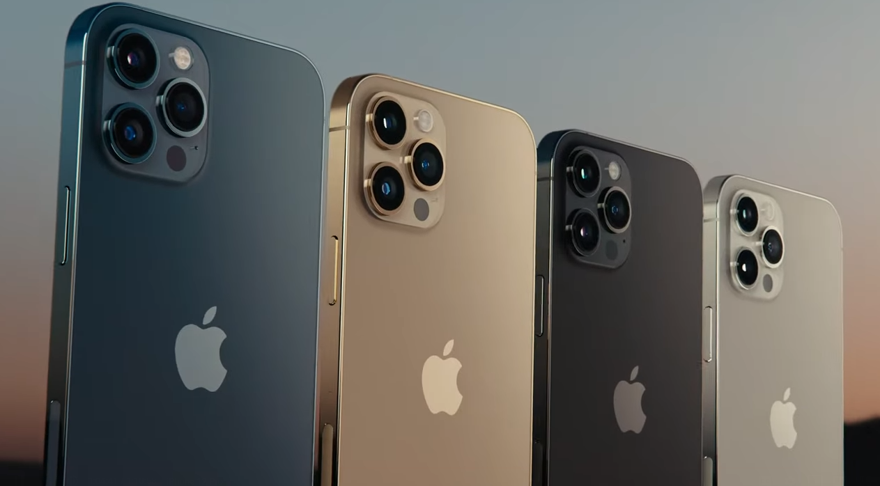 iphone 12 pro color range